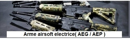 Arme airsoft electrice (AEG/AEP)